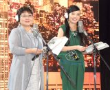 映画『ミュータント・タートルズ』アフレコイベントに出席した(左から)泉ピン子、ベッキー (C)ORICON NewS inc.