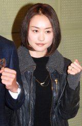 『スノーボード&フリースタイルスキー選手権』記者会見に出席した上村愛子 (C)ORICON NewS inc.