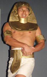 『国立カイロ博物館所蔵 黄金のファラオと大ピラミッド展』のオフィシャルサポーターに就任したオードリーの春日俊彰 (C)ORICON NewS inc.