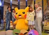 1周年ハッピーバースデーイベントに参加した(左から)ヒャダイン、大谷凛香、ピカチュウ、中川翔子、あばれる君 (C)ORICON NewS inc.