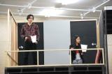 ミュージカル『DNA-SHARAKU』公開稽古の模様(左から)小関裕太、田野優花 (C)ORICON NewS inc.