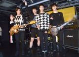 N.Flying(左から)グァンジン、ジェヒョン、スンヒョプ、フン=シングル「knock knock」発売記念インストアライブ (C)ORICON NewS inc.