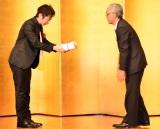 『第153回 芥川賞・直木賞』の贈呈式に出席した羽田圭介 (C)ORICON NewS inc.