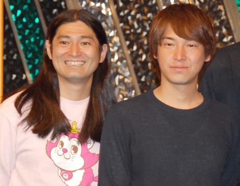 ハイキングウォーキング(左から)鈴木Q太郎、松田洋昌(C)ORICON NewS inc.