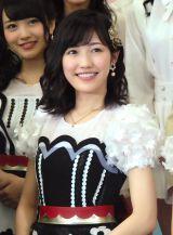 『第57回 輝く!日本レコード大賞』記者会見に出席したAKB48・渡辺麻友 (C)ORICON NewS inc.