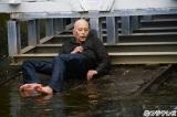 中村蒼、最後の撮影は川に転落したシーン