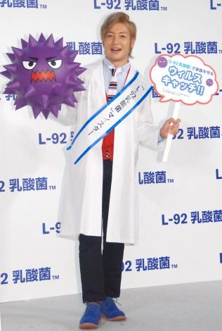 『L‐02乳酸菌』PRイベントに出席したつるの剛士 (C)ORICON NewS inc.