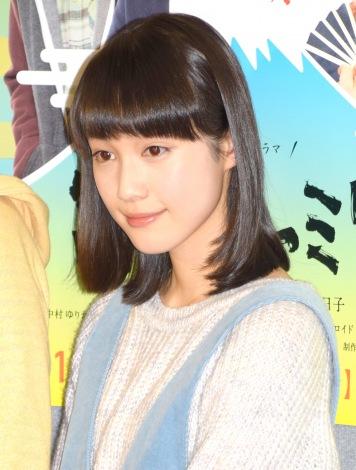 NHK新春スペシャルドラマ『富士ファミリー』の試写会に出席した中村ゆりか (C)ORICON NewS inc.