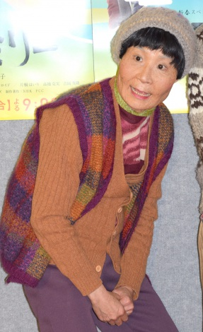 NHK新春スペシャルドラマ『富士ファミリー』の試写会に出席した片桐はいり (C)ORICON NewS inc.