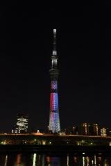 東京スカイツリーで映画『スター・ウォーズ/フォースの覚醒』公開記念ライティングを実施(12月20日まで)