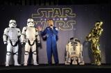 点灯式にはJAXAの宇宙飛行士・野口聡一氏がスペシャルゲストとして招かれ、ストームトルーパー、R2-D2、C-3POも駆け付けた