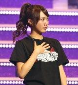 涙ながらに卒業を発表した乃木坂46の永島聖羅