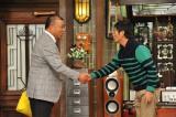 12月19日放送の関西テレビ『さんまのまんま』に阪神タイガースの2軍監督に就任した掛布雅之氏が出演(C)関西テレビ