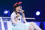 DIVAのメンバーだった宮澤佐江。2014年11月30日に千葉・幕張メッセで行われたDIVA解散ライブの模様をCS「テレ朝チャンネル1」で放送