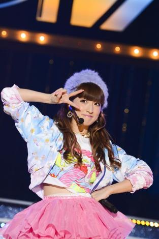 DIVAのメンバーだった梅田彩佳。2014年11月30日に千葉・幕張メッセで行われたDIVA解散ライブの模様をCS「テレ朝チャンネル1」で放送