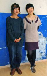 大宮エリー(右)とクラムボン・原田郁子が出演する『物語の生まれる場所』がクリスマスに開催 (C)ORICON NewS inc.