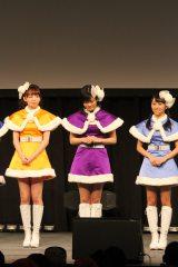 アンジュルムのファンクラブイベント冒頭で卒業を発表した田村芽実