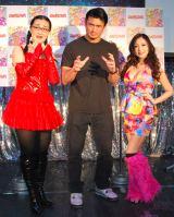 アニメ『ANISAVA』声優トークイベントに登場した(左から)白鳥久美子、柴田勝頼、たかはし智秋 (C)ORICON NewS inc.