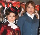 安倍なつみ&山崎育三郎(写真は2011年舞台共演時) (C)ORICON NewS inc.