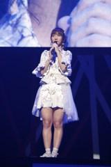 『第5回AKB48紅白対抗歌合戦』で卒業を発表した高城亜樹 (C)AKS