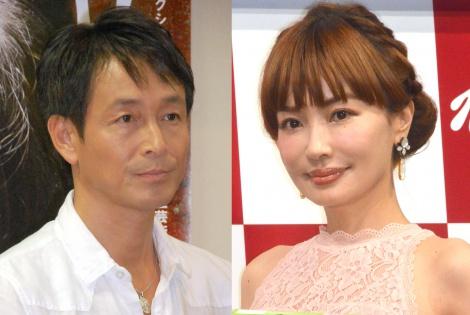 サムネイル (左から)吉田栄作、平子理沙 (C)ORICON NewS inc.