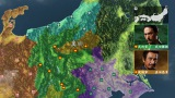 戦国時代の日本を表現した「フル3D 全国一枚マップ」のCG技術(C)NHK