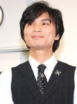 海外ドラマ『glee/グリー ファイナル・シーズン』ブルーレイ&DVDリリース記念イベントに出席した石井真 (C)ORICON NewS inc.