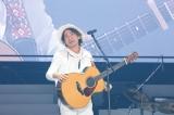 自身初のドーム公演を開催したナオト・インティライミ(23日=京セラドーム大阪) 撮影:ほりたよしか