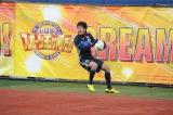 1月2日放送、『とんねるずのスポーツ王は俺だ!!』キックベース対決に参加した永井謙佑選手(名古屋)