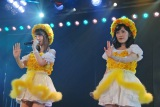 AKB48木崎チームB『ただいま 恋愛中』初日ゲネプロより(左から柏木由紀、渡辺麻友) (C)ORICON NewS inc.