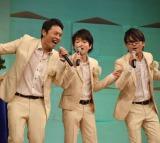 7ヶ月半ぶりにライブを行ったINSPi・奥村伸二(写真中央) (C)ORICON NewS inc.
