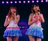 AKB48木崎チームB『ただいま 恋愛中』初日ゲネプロより(左から)加藤玲奈、柏木由紀 (C)ORICON NewS inc.