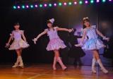 公演の前座でドラフト生3人が「天使のしっぽ」を披露 (C)ORICON NewS inc.