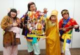 オリコンに来社した(左から)酒井藍、松浦真也、すっちー、吉田裕 (C)ORICON NewS inc.
