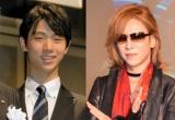 (左から)羽生結弦選手、YOSHIKI (C)ORICON NewS inc.