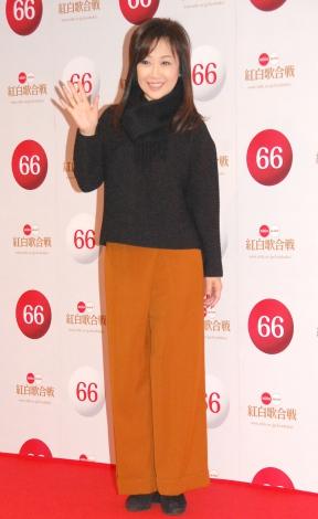 『第66回紅白歌合戦』リハーサル初日に会見に応じた伍代夏子 (C)ORICON NewS inc.