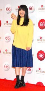 『第66回紅白歌合戦』リハーサル後、会見に応じたmiwa (C)ORICON NewS inc.