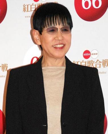 『第66回紅白歌合戦』リハーサル後、会見に応じた和田アキ子 (C)ORICON NewS inc.