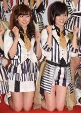 『第66回紅白歌合戦』リハーサル初日に参加したNMB48(左から)渡辺美優紀、山本彩 (C)ORICON NewS inc.