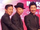 『紅白歌合戦』でEXILEパフォーマーを卒業した(左から)松本利夫、USA、MAKIDAI (C)ORICON NewS inc.
