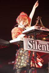 ゆかるん=『Silent Siren 2015 年末スペシャルライブ 覚悟と挑戦』東京体育館公演より