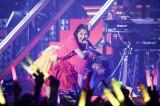 初の年越しライブ『第一回ゆく桃くる桃「笑顔ある未来」』を開催したももいろクローバーZ Photo by HAJIME KAMIIISAKA