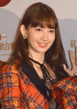 「すっごくHAPPYに年が越せそう」とコメントした小嶋陽菜 (C)ORICON NewS inc.