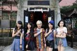 ベイビーレイズJAPAN(左から大矢梨華子、傳谷英里香、林愛夏、高見奈央、渡邊璃生)