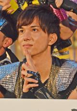 『BOYS AND MEN』(ボーイズアンドメン)新曲「BOYMEN NINJA」リリース記念イベントに出席した水野勝 (C)ORICON NewS inc.