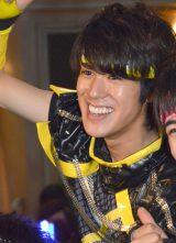 『BOYS AND MEN』(ボーイズアンドメン)新曲「BOYMEN NINJA」リリース記念イベントに出席した平松賢人 (C)ORICON NewS inc.
