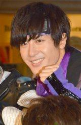 『BOYS AND MEN』(ボーイズアンドメン)新曲「BOYMEN NINJA」リリース記念イベントに出席した土田拓海 (C)ORICON NewS inc.