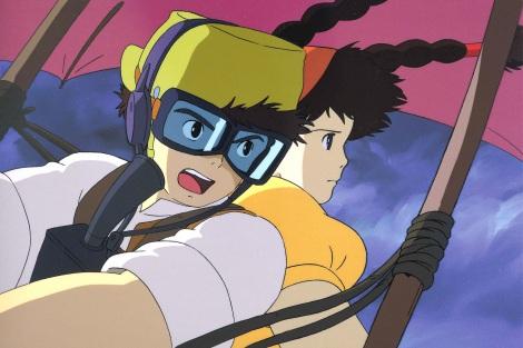 日本テレビ系『金曜ロードSHOW!』で15日に放送される『天空の城ラピュタ』場面カット (C)日本テレビ