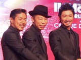 EXILEパフォーマーを卒業した(左から)松本利夫、USA、MAKIDAI (C)ORICON NewS inc.