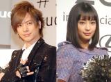 (左から)DAIGO、広瀬すず (C)ORICON NewS inc.